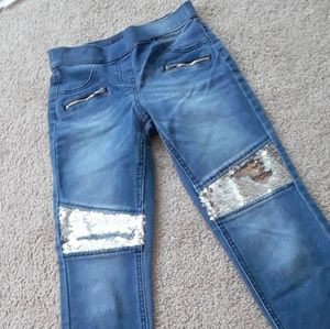 Justice pants size: 10 slim